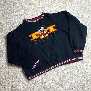 THE DISNEY STORE MICKEY MOUSE SWEATSHIRT SZ M